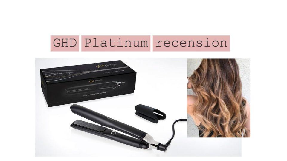 GHD Platinum recension