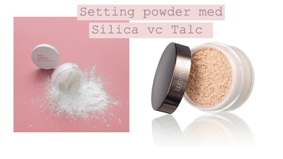 Setting powder med Silica vc Talc